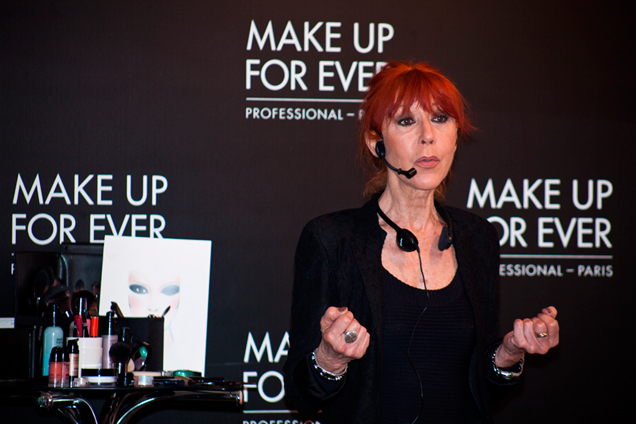 Dany Sanz, Make Up for Ever