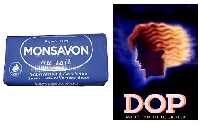 Мыло Monsavon и шампунь Dop