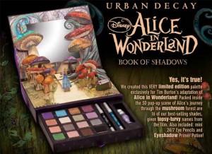 Urban Decay Алиса в стране чудес