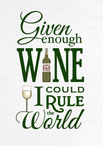 Цитата о вине