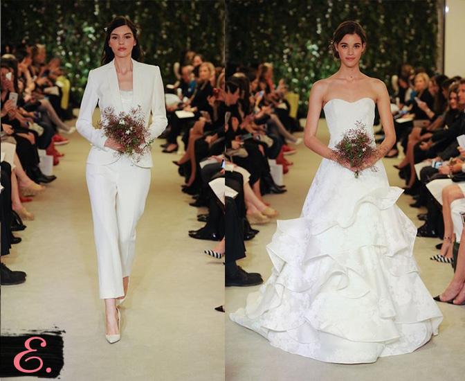 Свадебные платья 2015 Carolina Herrera первое фото