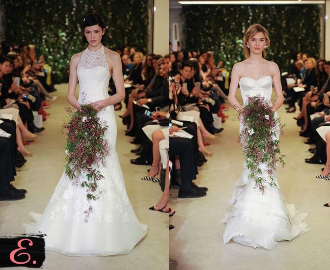 Свадебные платья 2015 Carolina Herrera второе фото