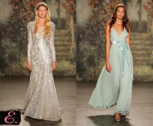 Свадебные платья 2015 Jenny Packham второе фото