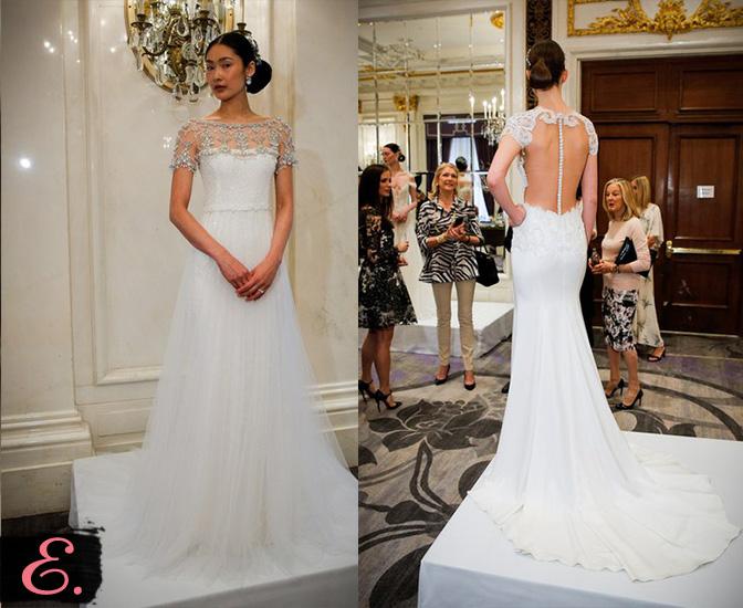 Свадебные платья 2015 Marchesa первое фото