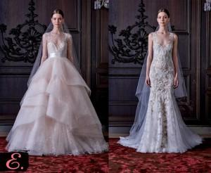 Свадебные платья 2015 Monique Lhuillier первое фото