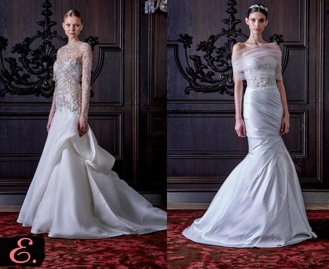 Свадебные платья 2015 Monique Lhuillier второе фото