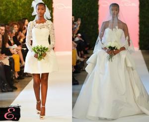 Свадебные платья 2015 Oscar De La Renta первое фото