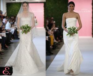 Свадебные платья 2015 Oscar De La Renta второе фото