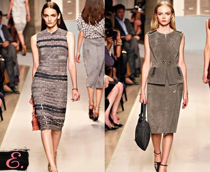 Платья замша коллекция 2015 года первое фото