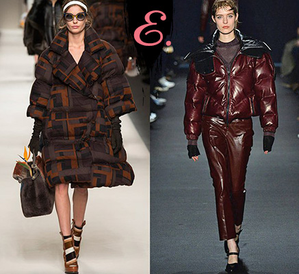 Мода осень-зима 2015-2016: Дутые пальто, пуховики