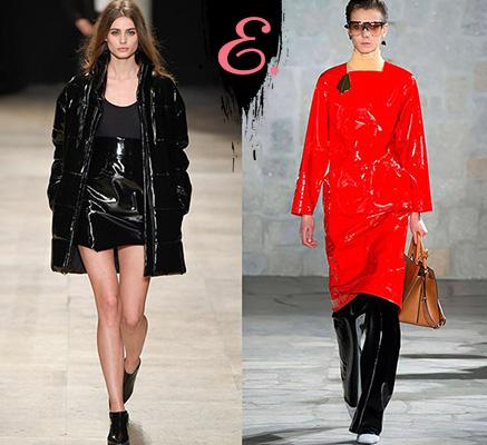 Мода осень-зима 2015-2016: Одежда из латекса