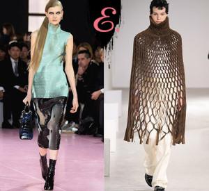 Мода осень-зима 2015-2016: Одежда в сетку