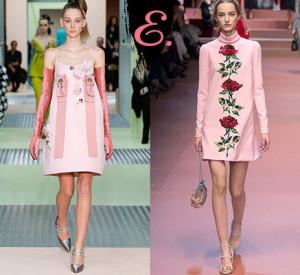 Мода осень-зима 2015-2016: Платье-трапеция