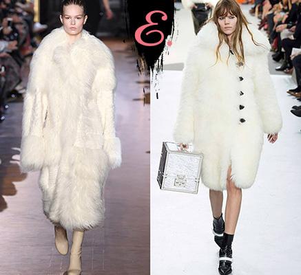 Мода осень-зима 2015-2016: Шубы ниже колена